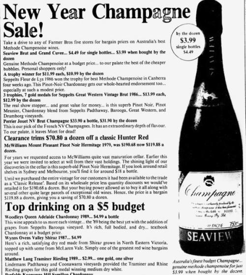 1989 Champagne